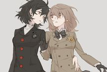 P5 - Akira + Goro Genderbend