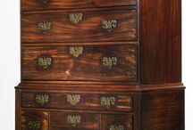 Furniture- Chippendale 1755-1790 / Look for Gothic arches, Chinese fretwork, columns, capitals, C-scrolls, S-scrolls, ribbons, flowers, leaves, scallop shells, gadrooning and acanthus leaves. - See more at: http://www.antiquetrader.com/antiques/a_primer_on_furniture_styles#.dpuf