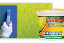 Tynki sylikonowe oraz akrylowe Astex