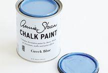 Greek Blue Chalk Paint® decorative paint by Annie Sloan