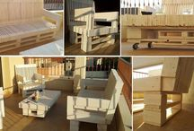 Handmade Outdoor Furniture Lounge Suite / Description: Outdoor lounge suite, with two lounge chairs, one 3-seater couch and coffee table. The customer in this case provided us with a brief. Measurements were taken and a design was drawn up including 3D visualisations from various angles. The customer made minor adjustments and a final design was decided on. Design Elements: Pallet motif, rustic, shabby chic finish. Materials: Reclaimed pallet wood, treated wood, white matt varnish.