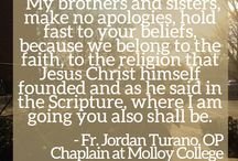 Faith Molloy / Faith Molloy is a collaboration of the Office of Advancement and the Office of Campus Ministries.
