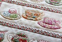 Applique work