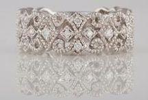 Diamond Wedding Bands / Fancy Bashinski Diamond Wedding Bands