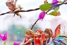 Fairies, Gnomes and Mushrooms / My other fairies and Gnomes