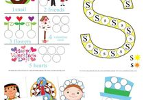 Tot Activities / Homeschool activities and educational, creative ways to keep toddlers busy