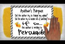 2nd  ELA author's purpose / by Darla Moore
