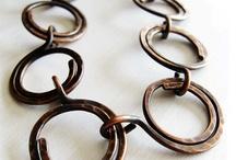 Wire Bracelets / Wire wrapped jewellery