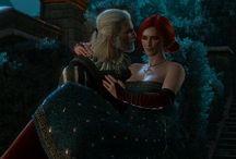Witcher - Geralt ❤️ Triss