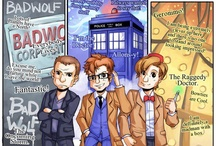 Whovian Stuff / 10, not 11. Sometimes 9, but mostly 10. / by Nicole Quier