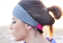 Headbands / Workout headbands and fashion headbands / by Elyse Pasheilich Mueller