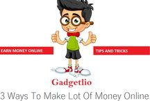 Earn money online / this board will tell you how you can make lot of money from internet.