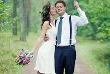 Rainy Weddings / Rain doesn't have to be a bad thing on your special day! It's super romantic!