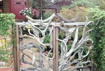 Driftwood gate/fence