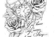 Vorlage für Tattoo