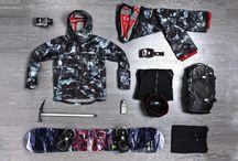 Men's snowboarding fashion