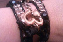 náramky,moja výroba/bracelet,my production / memory wire bracelet