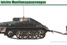 WW2 - SDKFZ 252 / Leichter Gepanzerter Munitionskraftwagen Sd.Kfz.252- niemiecki lekkipółgąsienicowyopancerzony transporter amunicji, używany w jednostkach dział szturmowycharmii niemieckiejpodczasII wojny światowej, należący do pojazdów z rodziny transporteraSd.Kfz.250