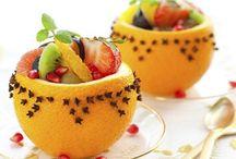 Meyve sunum