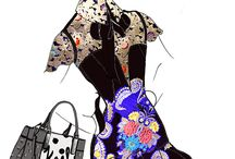 Fashion Illustrations / Fashion Illustrations by ModaRévisé / by ModaRévisé