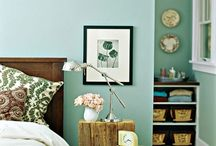 New room / Ideas for my future room in mint ang light green