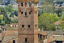 LA MIA TOSCANA / Lucca la città  dove ho vissuto la mia infanzia