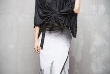 ГА_007 Блуза Квадро черная