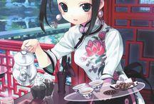 Anime Girl Maid Dress