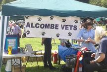 Alcombe Cares for... RESCUE PETS / Alcombe has supported local Registered Animal Charities for 30 years by fund raising and providing discounted fees