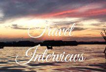 Travel interviews