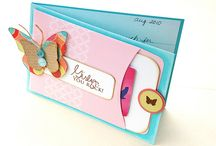 Stampin' Up! - Gift Card Holders