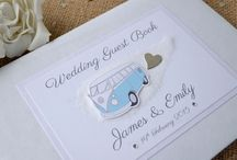 Campervan Wedding Gift Ideas / Ideas for wedding gifts that relate to Campervans. If the bride or groom are campervan fans, get your campervan wedding gift here.