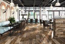 Revêtement de sols pour bars et restaurants