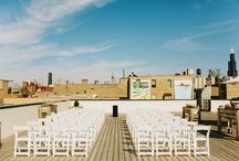 ROOFTOP WEDDING.