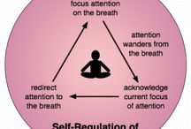 Infographics / Visual aids to help understand different concepts and the effects of practicing mindfulness