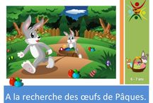 Pâques / Jeux clé et activités sur le thème de Pâques. #jeu #activités #enfant #Pâques