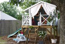 Treehouse ideas / by Haley Phillips