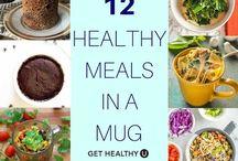 Healthy mug meals