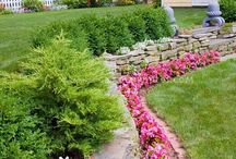 Retaining Walls / Retaining walls have long maintained a practical reputation. But what if they can be beautiful and hard-working, reclaiming more valuable outdoor space in your yard?