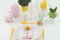 Tables de Pâques / Décorations et vaisselle Mesa Bella  pour votre table de Pâques
