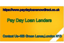 Pay day loan lendersuk
