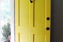 Türen streichen