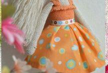 MuñecasCosas que me encantan en manualidades y bricolaje
