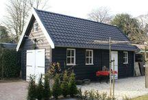 garage/schuur bij huis