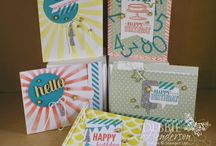 SU card kits / by Mary Jo Kersey