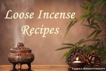 Incense making / Formulations and tips on incense making