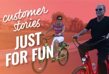 Pedego Customer Stories / Real-life Pedego electric bike customers share their stories on how riding an #ebike has changed their lives.   See for yourself all the wonderful benefits that come from owning a Pedego Electric Bike.