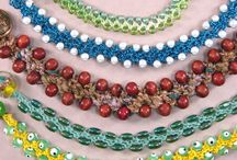 crocheting jewelery with or without beads / by Lesa Marie
