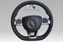 Neu Original Lenkrad AMG Schwarz Leder + Airbag Multifunktion steering wheel Mercedes CLA A-Klasse W117 W156 W172 W176 W246 A0004603303