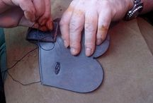 Our Handmade Leather Mini Saw Sheaths / One of our most popular items is our hand made Lather Mini Pocket saw Sheaths. Ideal for Bushcrafters, Woodsman, Foresters, Survivalist, Outdoor workers etc.